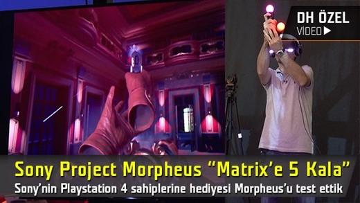 """Sony Project Morpheus inceleme """"Matrix'e 5 kala"""""""