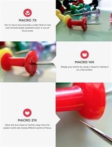Olloclip, iPhone 6 ve 6 Plus için geliştirdiği yeni makro lensini tanıttı