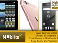Mobilite: Yeni iPhone ve iPad'ler üzerine, Asus ZenFone ailesinin yenileri ve Sony Xperia Z5 Premium...