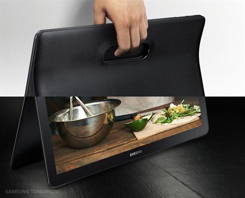 Samsung Galaxy View tableti için ilk tanıtım videosu geldi