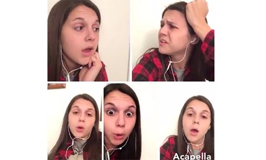İnternet dünyasının yeni takıntısı: Akapella