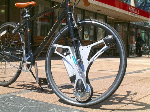Sadece ön lastiğinizi değiştirerek bisikletinizi elektrikli yapmak ister misiniz?