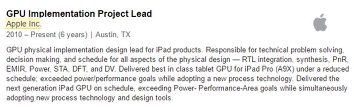 apple inc and product descriptions