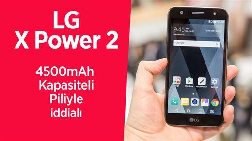 LG X Power 2 mercek altında: Pil kapasitesi 4500mAh