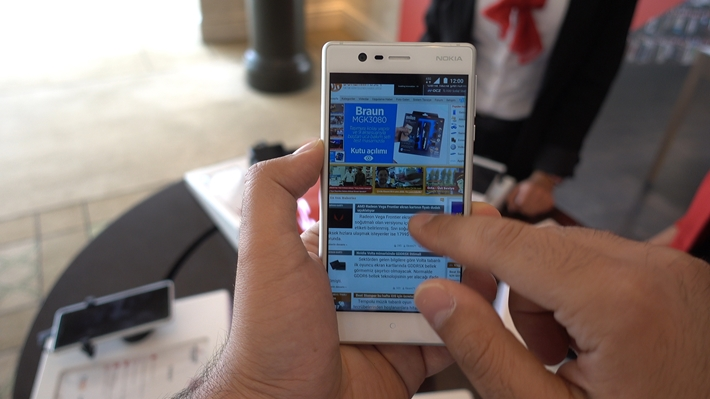 Nokia geri döndü: Android'li yeni telefonu Nokia 3'ü