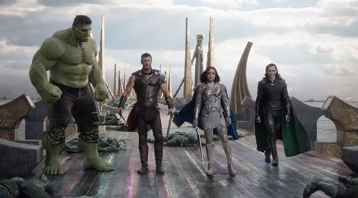 Thor: Ragnarok'tan yeni fragman ve poster