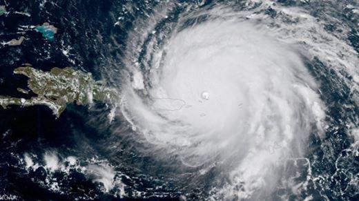 NASA, Irma Kasırgası'nın Karayipler'e etkisini gösteren uydu görüntüleri yayınladı