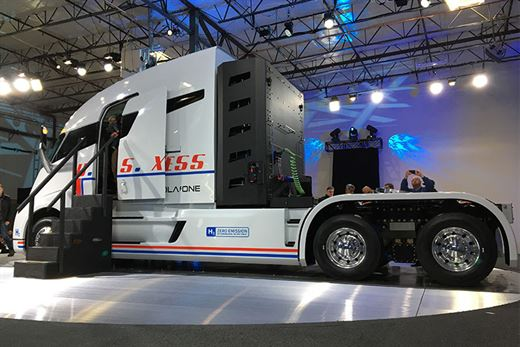 Nikola Motor'un elektrikli kamyonunun motoru Bosch tarafından üretilecek