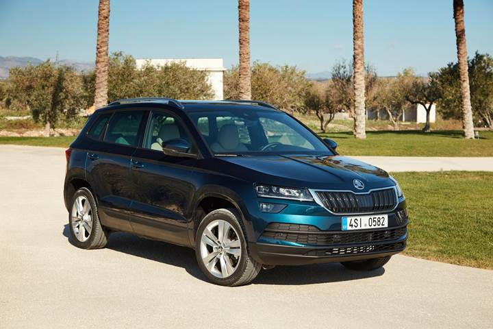 skoda karoq 2018 39 in ilk eyre inde t rkiye 39 ye geliyor sayfa 1 2. Black Bedroom Furniture Sets. Home Design Ideas