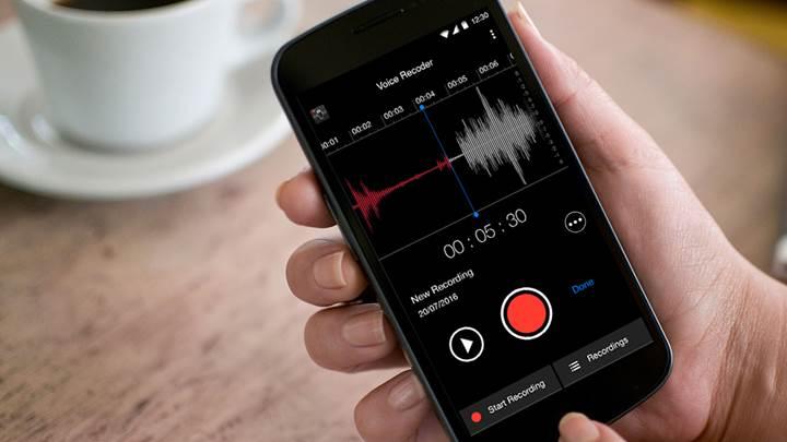telefon görüşmesinde ses kaydetme