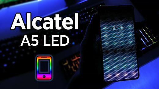 "Alcatel A5 LED incelemesi ""RGB'li telefon ister misiniz?"""
