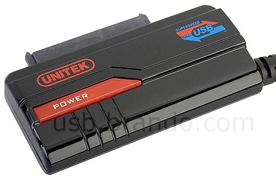 Переходник UNITEK SATA на USB.