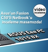 Asus Eee PC 1015BX video inceleme