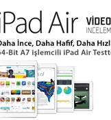 Apple iPad Air video inceleme: