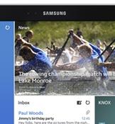 Samsung'dan dev tablet!