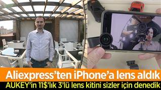 Aliexpress'den iPhone'a lens aldık