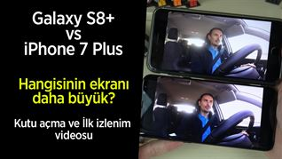 Galaxy S8+ vs iPhone 7 Plus