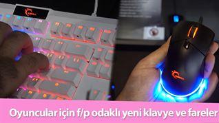 Oyuncular için fiyat/performans iddialı yeni klavye ve fareler
