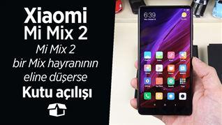 Xiaomi Mi Mix 2 kutu açılışı