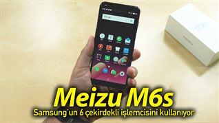 Meizu M6s elimizde: Samsung'un 6 çekirdekli işlemcisi onda