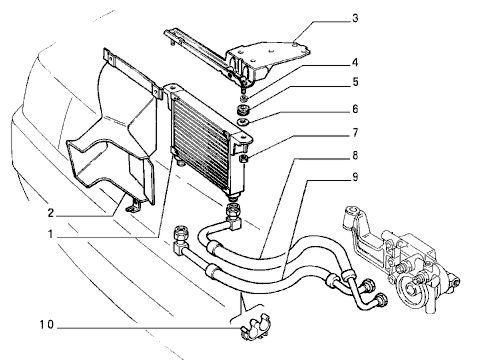 09 масляный радиатор схемы.