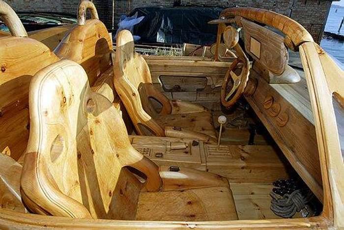 машины из дерева