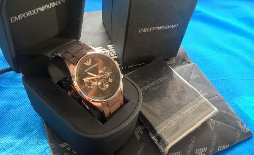 оригинальные часы emporio armani такие