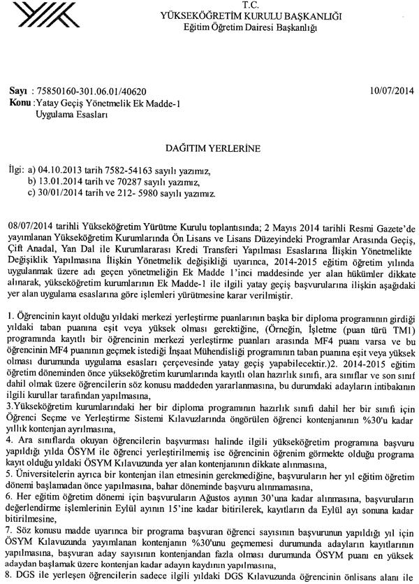 24 TEMMUZ G�NCEL BILGI EKLENDI) MERKEZI YERLESTIRME PUANINA G�RE ...