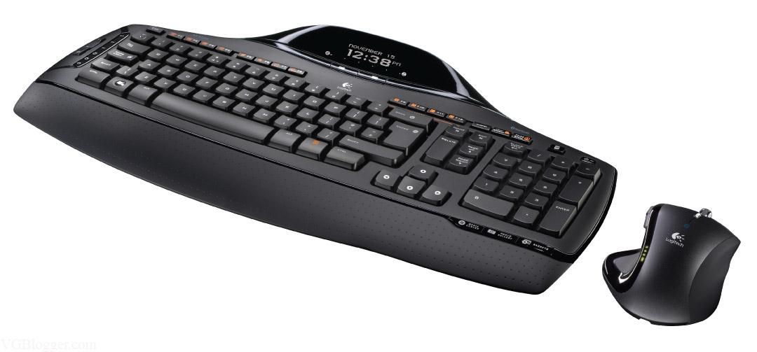 Logitech клавиатура и мышь 4