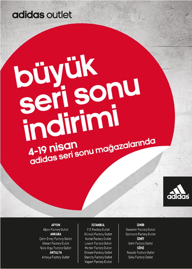 adidas factory outlet kartal